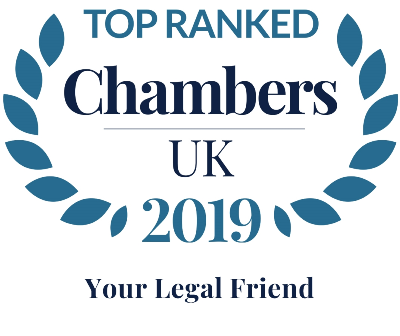Logo to show Your Legal Friend is listed by Chambers and Partners as a top law firm