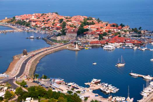 nessebar on the Black Sea, bulgaria