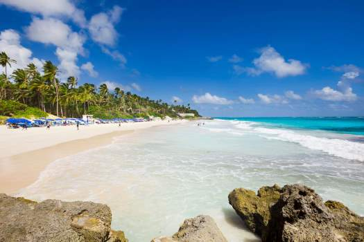 View of Crane beach, Barbados