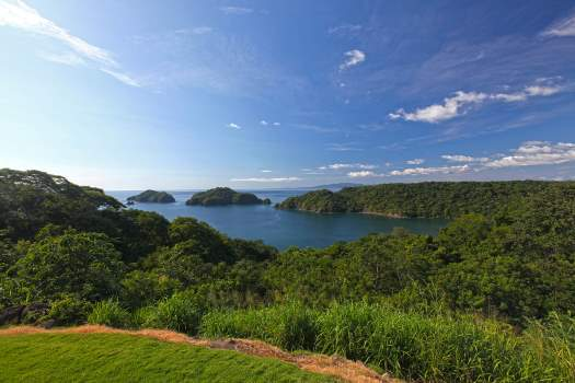 View of Papagayo Bay in Costa Rica