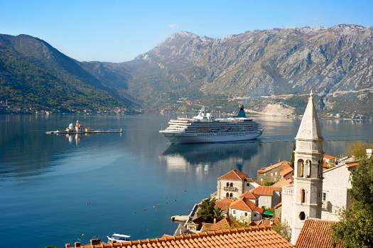 Cruise through Montenegro
